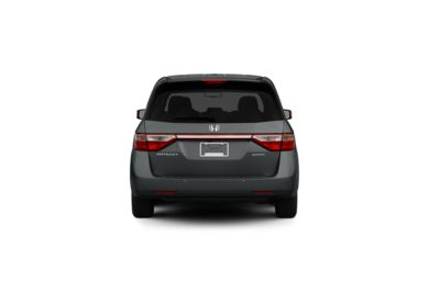Surround Rear Profile 2012 Honda Odyssey