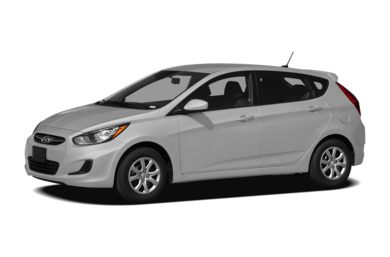 3/4 Front Glamour 2012 Hyundai Accent