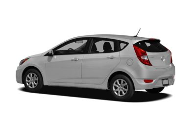Surround 3/4 Rear - Drivers Side  2012 Hyundai Accent