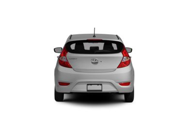 Surround Rear Profile 2012 Hyundai Accent