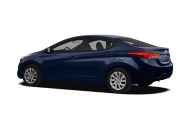 Surround 3/4 Rear - Drivers Side  2012 Hyundai Elantra
