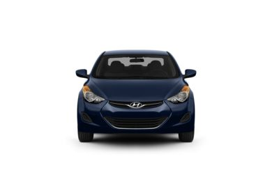 Surround Front Profile  2012 Hyundai Elantra