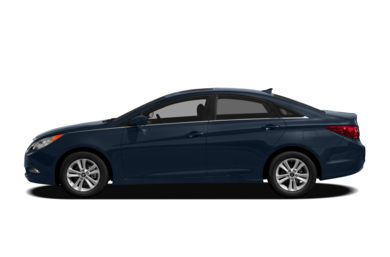 90 Degree Profile 2012 Hyundai Sonata