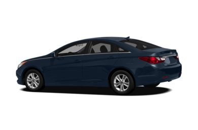 Surround 3/4 Rear - Drivers Side  2012 Hyundai Sonata