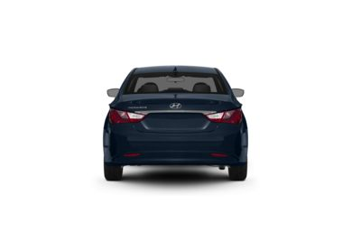 Surround Rear Profile 2012 Hyundai Sonata