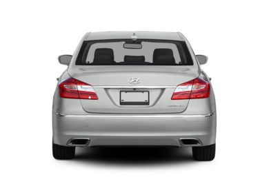 Rear Profile  2012 Hyundai Genesis Sedan