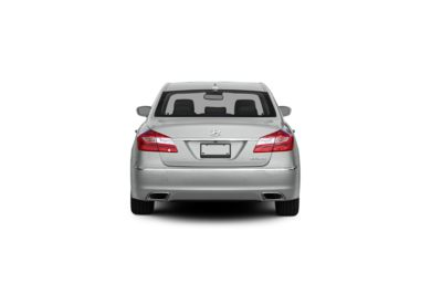 Surround Rear Profile 2012 Hyundai Genesis Sedan