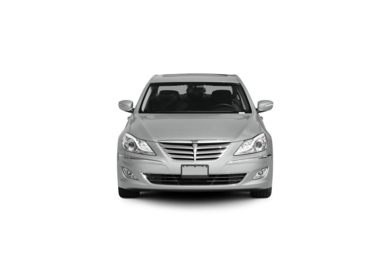Surround Front Profile  2012 Hyundai Genesis Sedan