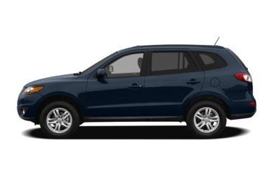 90 Degree Profile 2012 Hyundai Santa Fe