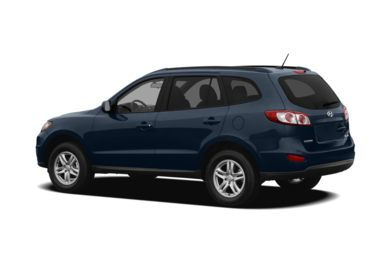 Surround 3/4 Rear - Drivers Side  2012 Hyundai Santa Fe