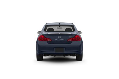 Surround Rear Profile 2012 INFINITI G37 Sedan
