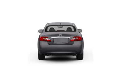 Surround Rear Profile 2012 INFINITI M37x