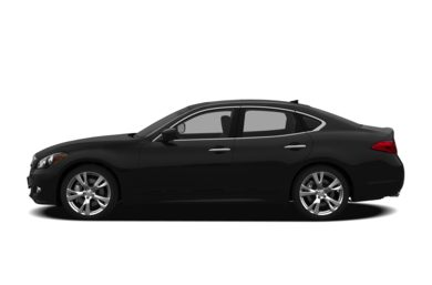 90 Degree Profile 2012 Infiniti M56