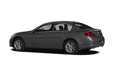 Surround 3/4 Rear - Drivers Side  2012 Infiniti G25