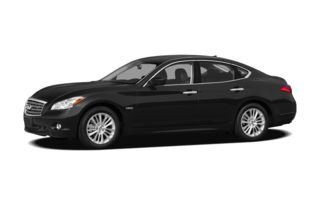 3/4 Front Glamour 2012 Infiniti M35h