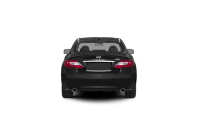 Surround Rear Profile 2012 INFINITI M35h