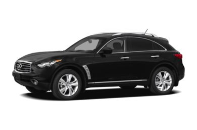 3/4 Front Glamour 2012 INFINITI FX50