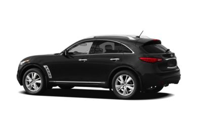 Surround 3/4 Rear - Drivers Side  2012 INFINITI FX50