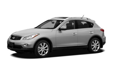 3/4 Front Glamour 2012 Infiniti EX35