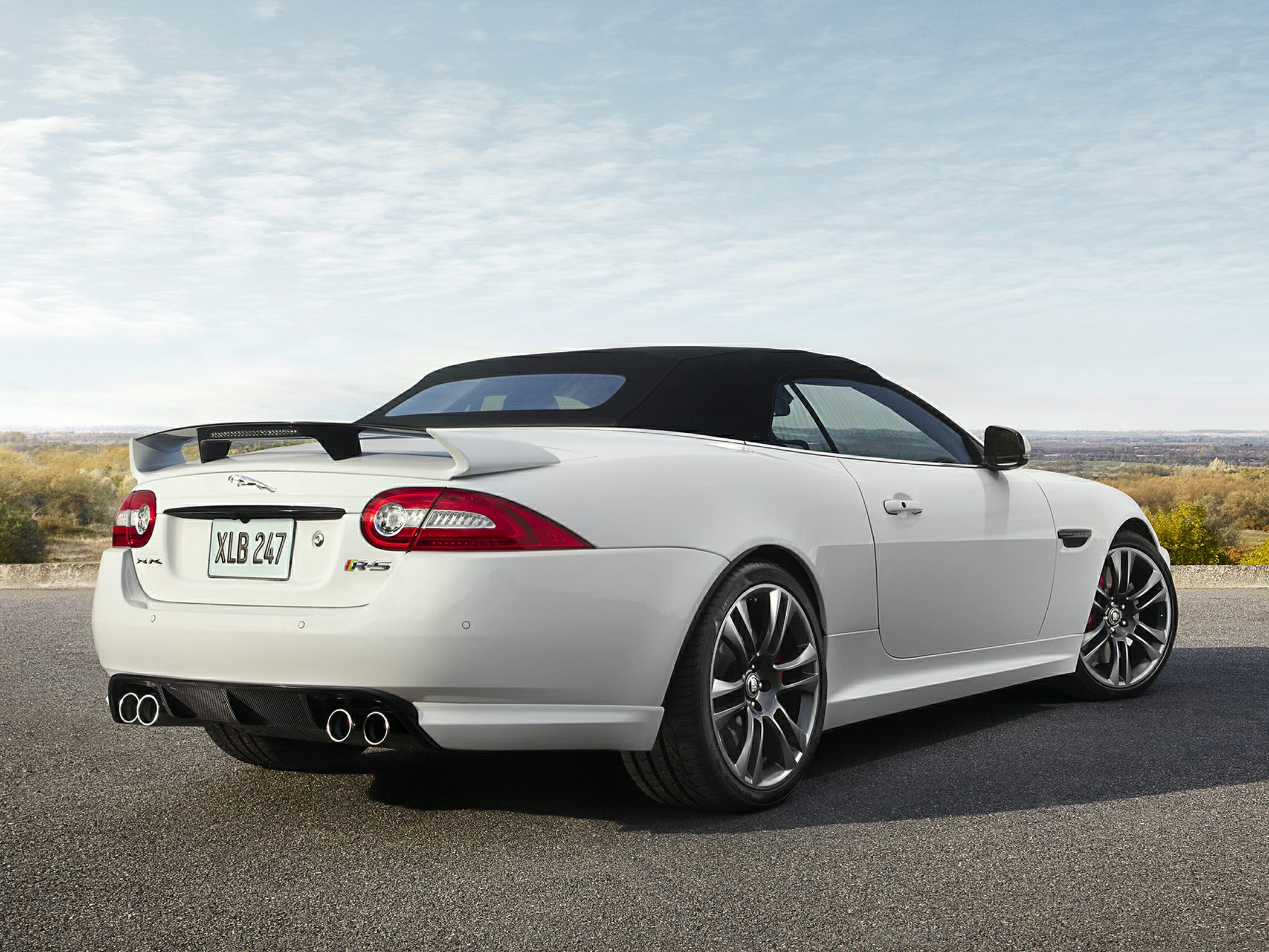2015 Jaguar XK Rear