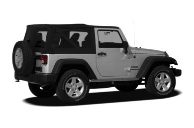 3/4 Rear Glamour  2012 Jeep Wrangler