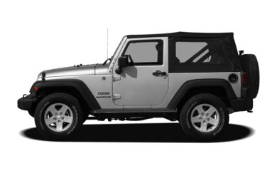 90 Degree Profile 2012 Jeep Wrangler