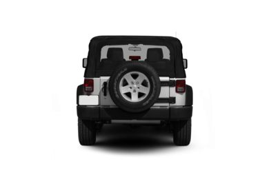 Surround Rear Profile 2012 Jeep Wrangler