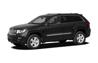 3/4 Front Glamour 2012 Jeep Grand Cherokee