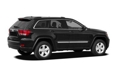 3/4 Rear Glamour  2012 Jeep Grand Cherokee
