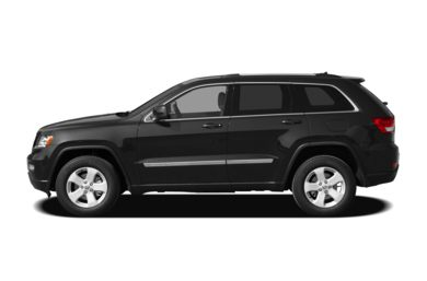 90 Degree Profile 2012 Jeep Grand Cherokee