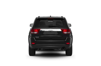 Surround Rear Profile 2012 Jeep Grand Cherokee