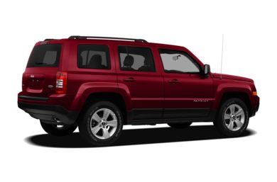 3/4 Rear Glamour  2012 Jeep Patriot