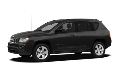3/4 Front Glamour 2012 Jeep Compass