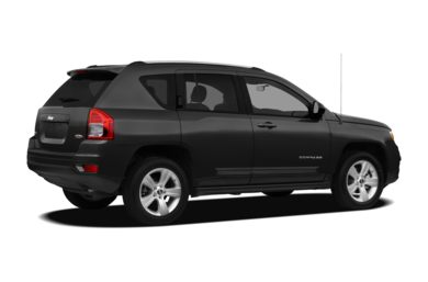 3/4 Rear Glamour  2012 Jeep Compass