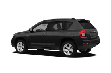 Surround 3/4 Rear - Drivers Side  2012 Jeep Compass