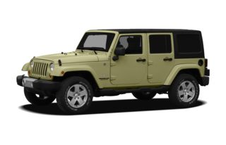 3/4 Front Glamour 2012 Jeep Wrangler Unlimited