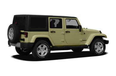 3/4 Rear Glamour  2012 Jeep Wrangler Unlimited