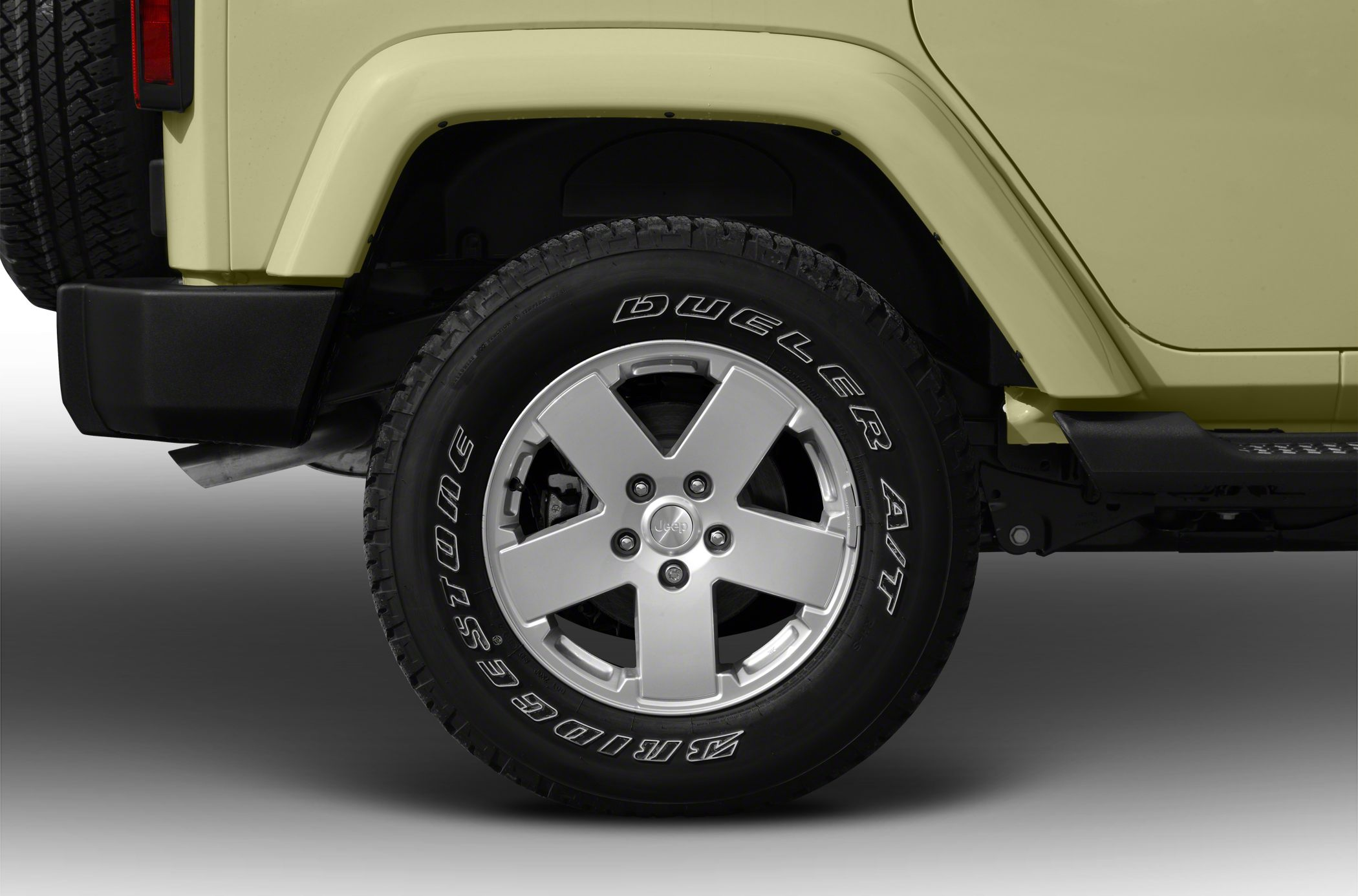 Tires 2012 Jeep Wrangler Unlimited