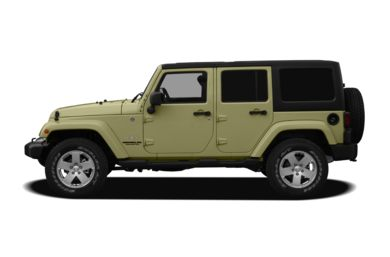 90 Degree Profile 2012 Jeep Wrangler Unlimited