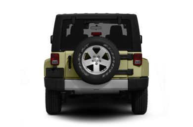 Rear Profile  2012 Jeep Wrangler Unlimited