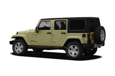 Surround 3/4 Rear - Drivers Side  2012 Jeep Wrangler Unlimited