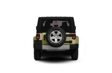 Surround Rear Profile 2012 Jeep Wrangler Unlimited