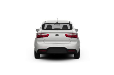 Surround Rear Profile 2012 Kia Rio