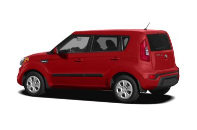 Surround 3/4 Rear - Drivers Side  2012 Kia Soul