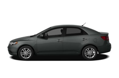 90 Degree Profile 2012 Kia Forte