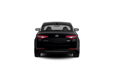 Surround Rear Profile 2012 Kia Optima Hybrid