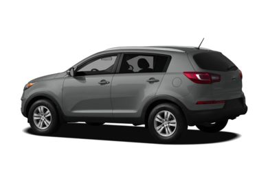 Surround 3/4 Rear - Drivers Side  2012 Kia Sportage