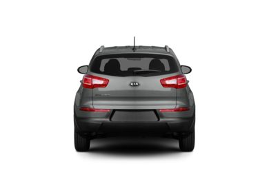 Surround Rear Profile 2012 Kia Sportage