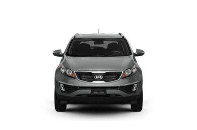 Surround Front Profile  2012 Kia Sportage