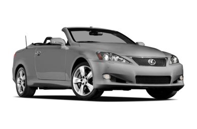 3/4 Front Glamour 2012 Lexus IS 350C